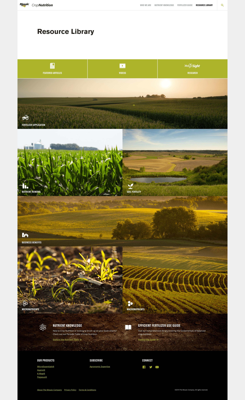 Mosaic Crop Nutrition |